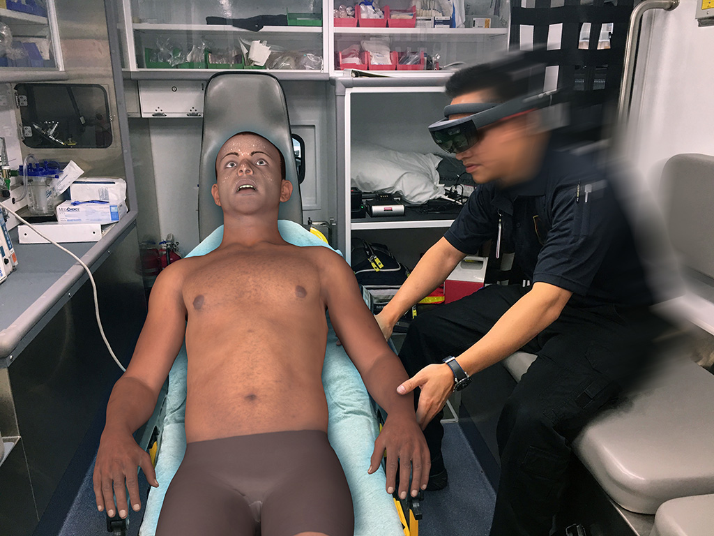 Medic with PerSim-min